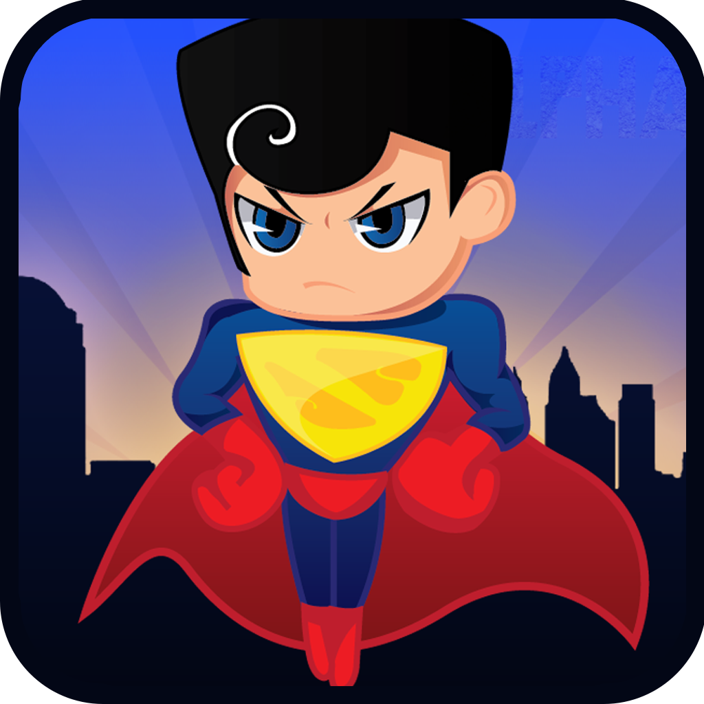 Alpha Hero FREE - Man Of Super Powers Airbourne