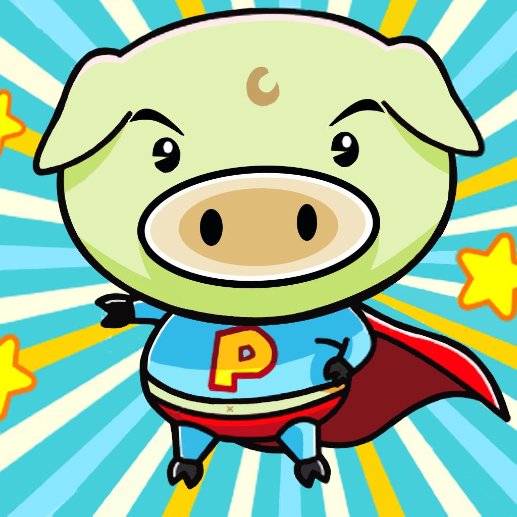 A Happy Ham in Run Adventures - Piggies for Kids